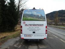 Bus Taxi Altenberger in Zell am See und Saalbach Hinterglemm